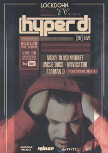 Hyper D: [RE]LIVE